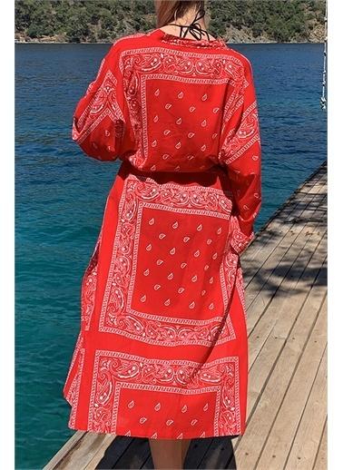 Moda Butik Şal Kırmızı
